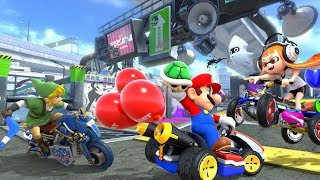 Mario Kart 8 Deluxe with Friends!