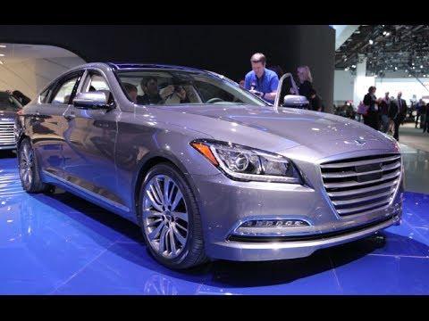 2015 Hyundai Genesis Sedan - 2014 Detroit Auto Show
