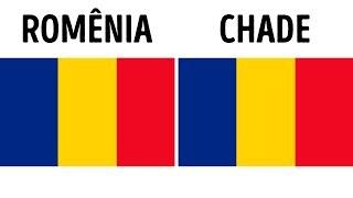 32 Bandeiras Criativas do Mundo Feitas por Verdadeiros Gênios