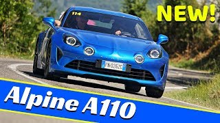 New 2018 Renault Alpine A110 Première Edition - Hillclimb, Action & Sound at Vernasca Silver Flag