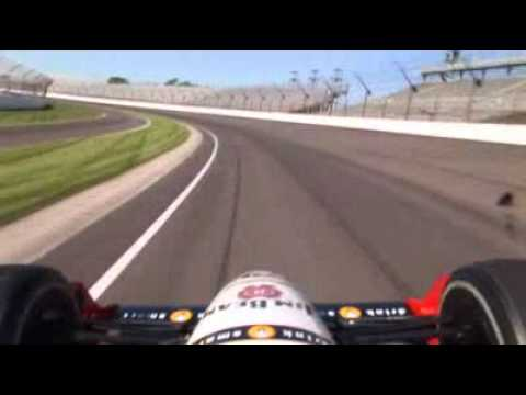 Fast lap at Indianapolis Motor Speedway