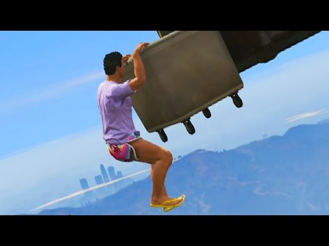 PARKOUR EXTREMO! QUE RECUERDOS!! - Gameplay GTA 5 Online Funny Moments (GTA V PS4)