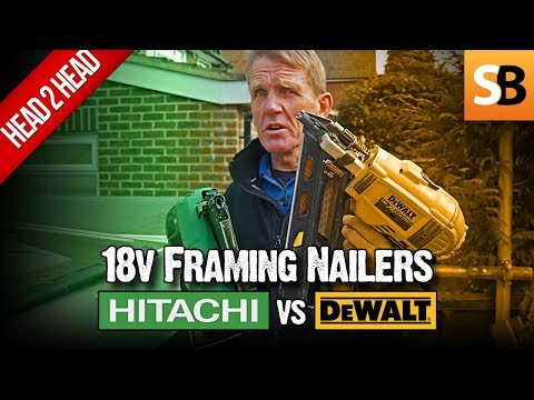 Hitachi vs DeWalt DCN692 18v Cordless Framing Nailer