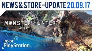 Bald geht's auf Monsterjagd! Release Date für Monster Hunter: World  | PlayStation News Update
