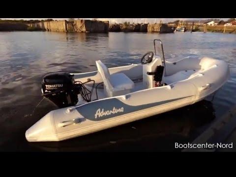 testfahrt adventure vesta v 380 ml1 rib schlauchboot mit. Black Bedroom Furniture Sets. Home Design Ideas
