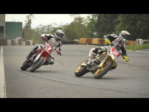 2013 Japanese Supermoto Round 2 | highlights