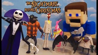 Nightmare Before Christmas Toys Series 5 - Diamond Select Action Figures Unboxing