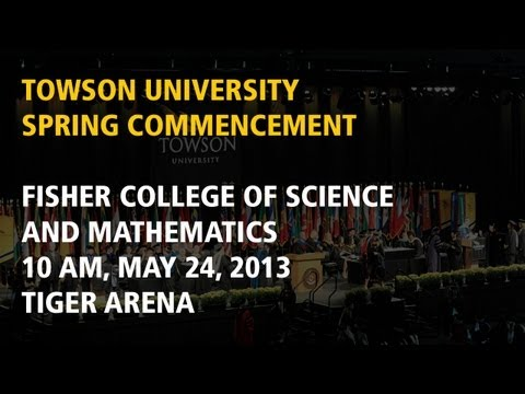 Fisher College of Science and Mathematics, Spring Commencement