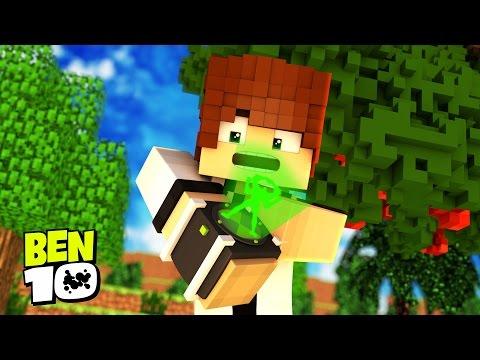 Minecraft BEN 10 : TESTANDO O OMINITRIX  !!! #03 ( Ben 10 In Minecraft)