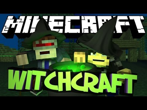 Minecraft Mod Showcase : WITCHERY Mod (Magic. Bosses. Brooms)