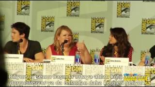 The Vampire Diaries - Comic Con 2013 Panel Part 1  [Altyazılı]