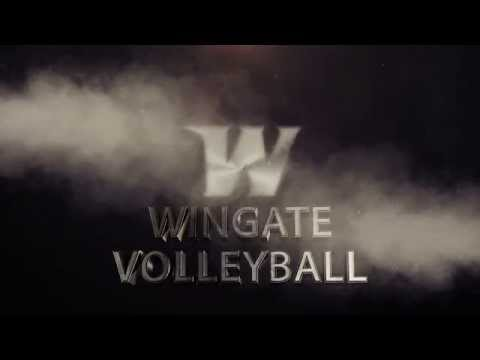 2014 Wingate Volleyball Intro - Hype Video