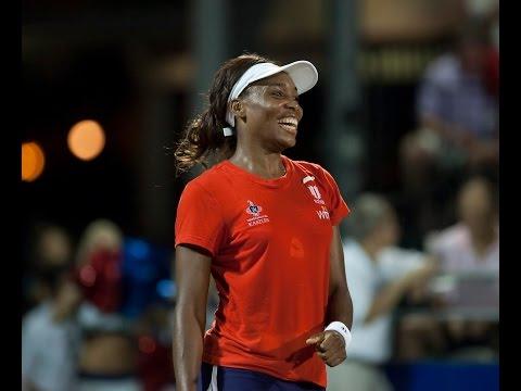 Venus Williams Beats Martina Hingis 3 Times in 2010 WTT Match