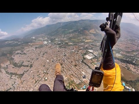 Colombia - A Magnificent Place to Fly (Paragliding) (GoPro Hero 3)