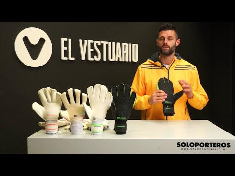 Tutorial guantes de portero ● Tipos de palma, ¿cuál elegir?