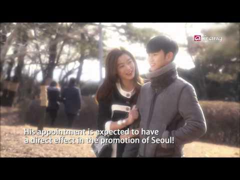 Showbiz Korea-KIM SOO-HYUN IS APPOINTED AS THE PR AMBASSADOR OF SEOUL CITY   배우