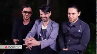 30 Seconds to Mars Video - 30 Seconds to Mars - Interview @ Radio.com
