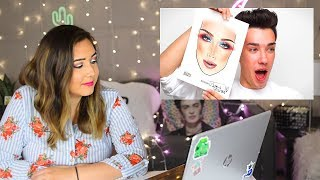 Artist Reacts to James Charles Drawing