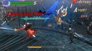 DMC4SE Dante vs the Order of the Sword (DMC3 Style)