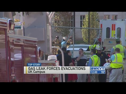 Columbia Gas repairs leak that led to evacuations on UK campus