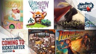 Upcoming Board Games Kickstarter April 1-15, 2018
