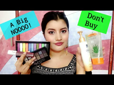 Products That I REGRET Buying || Riya Beauty