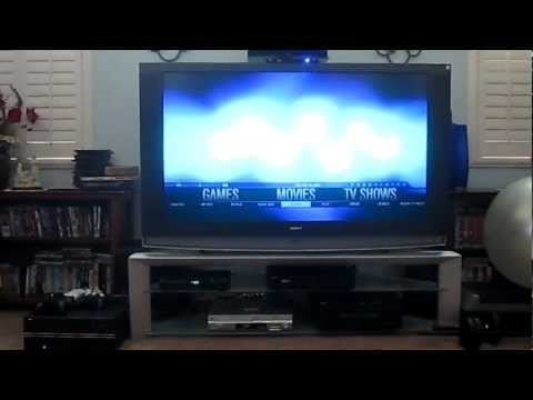 HTPC Demo Video - XBMC Eden and AEON MQ4 Skin