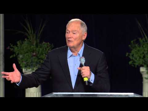 Pastor Tommy Barnett ministering during the World Conference 2014 in Orlando