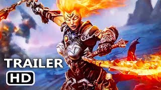 PS4 - Darksiders 3 Flame Hollow Trailer (2018)