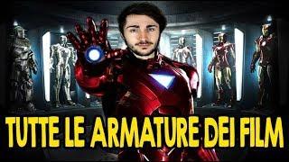 Tutte le Armature di Iron Man fino ad ''Infinity War'' MCU (Storia)