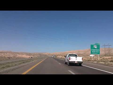 Las Vegas to Mesquite, Nevada: Interstate 15 Time Lapse Drive