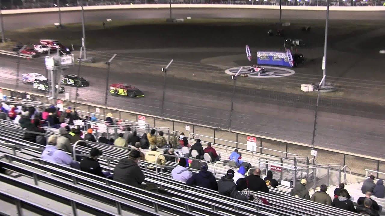 Texas Motor Speedway Dirt Track 3 7 14 Outlaw Mod Heat 5