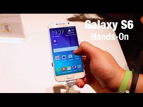 Samsung Galaxy S6 hands on - MWC 2015