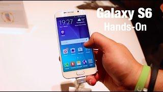 Samsung Galaxy S6 hands on - MWC 2015