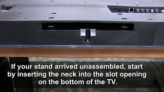 How to Swap out the Stand Assembly on your VIZIO HDTV