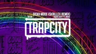 Travis Scott Sicko Mode Ft Drake Skrillex Remix