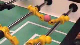 CRAZY skills on Football Table / Foosball / Fussball