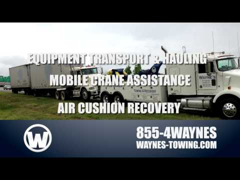 flatbed towing Aiken SC - Waynes Automotive Center