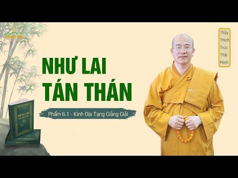 Kinh Địa Tạng - Phẩm 6: Như Lai Tán Thán