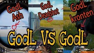 #PUBG #KrontenGaming GodL Vs GodL || Stream Sniping || Shaktimaan Gaming