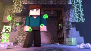 Witch Encounter   Minecraft Animation