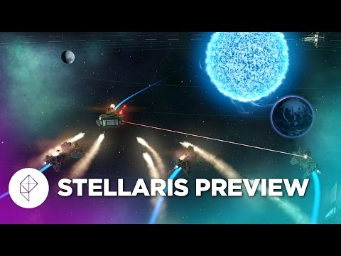 Space empire builder Stellaris in action