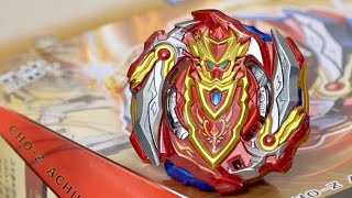 CHO-Z ACHILLES .00.Dm Starter (B-129) Unboxing & Review! - Beyblade Burst Super Z/Turbo