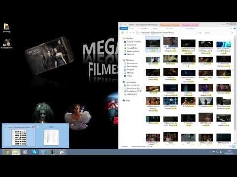 Como baixar filmes do MEGA e Ver filmes em RMVB.