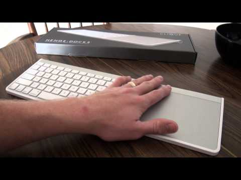Henge Docks Clique Dock Review (for Apple Wireless Keyboard & Magic Trackpad)