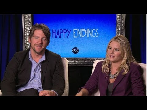Happy Endings Stars Zachary Knighton & Elisha Cuthbert
