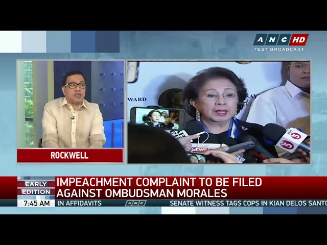 VACC eyes impeachment case vs Morales next week