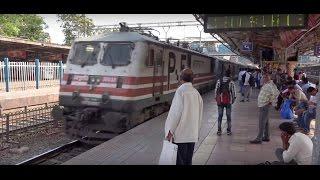 Mumbai New Delhi Premium Express Skipping High Profile Dadar Station, Mumbai at Terrific Speed