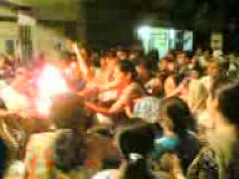 108 flames marathi aarti of ganeshji of ankur society adajan...