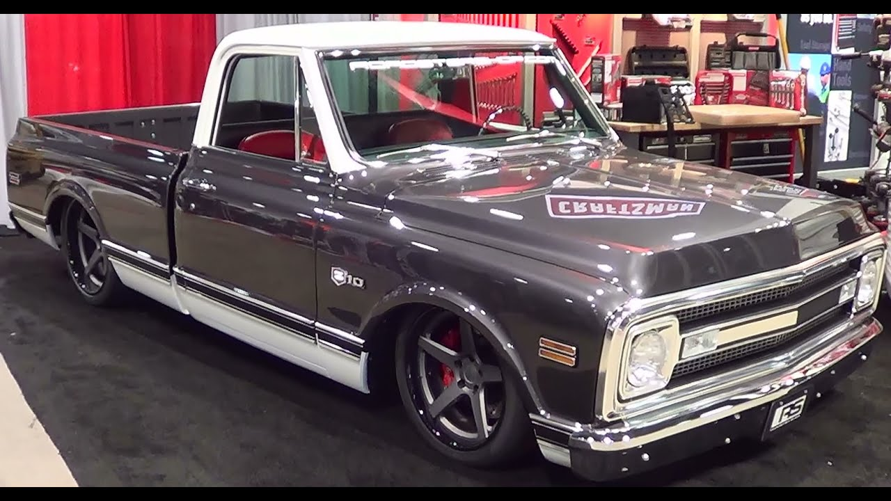 "2013 Chevy Truck 1969 Chevrolet C-10 Craftsman ""Restoration Roll Out"" SEMA ..."
